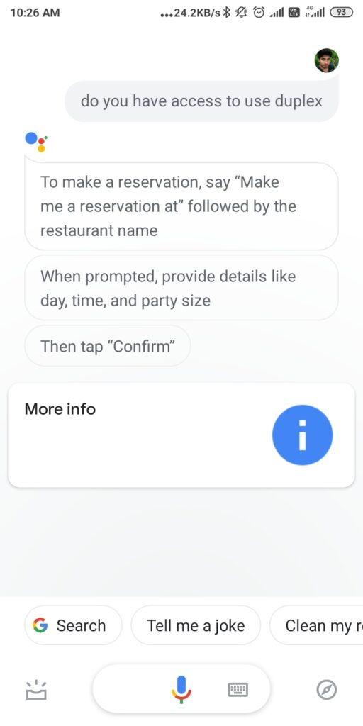 an image showing how to use google duplex