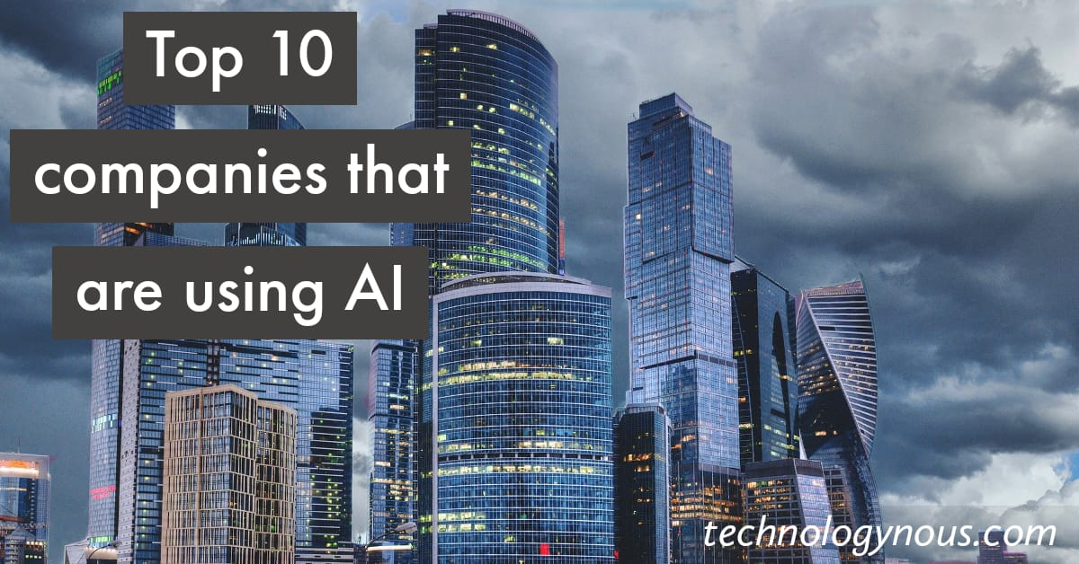 companies that are using AI