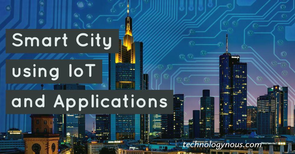 smart city using iot