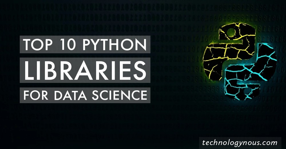 top python libraries for data science