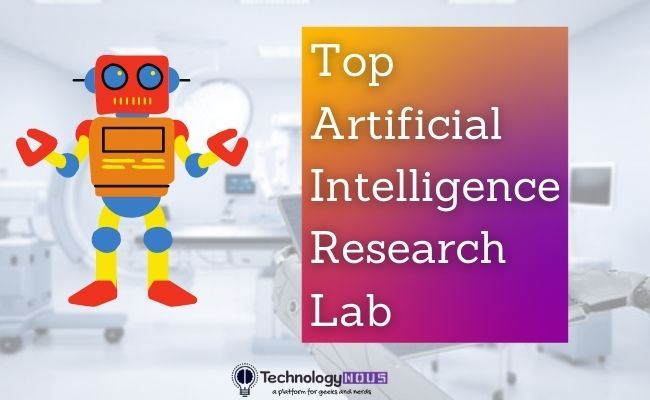 top ai labs in the world