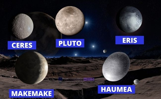 how many dwarf planets in our solar system